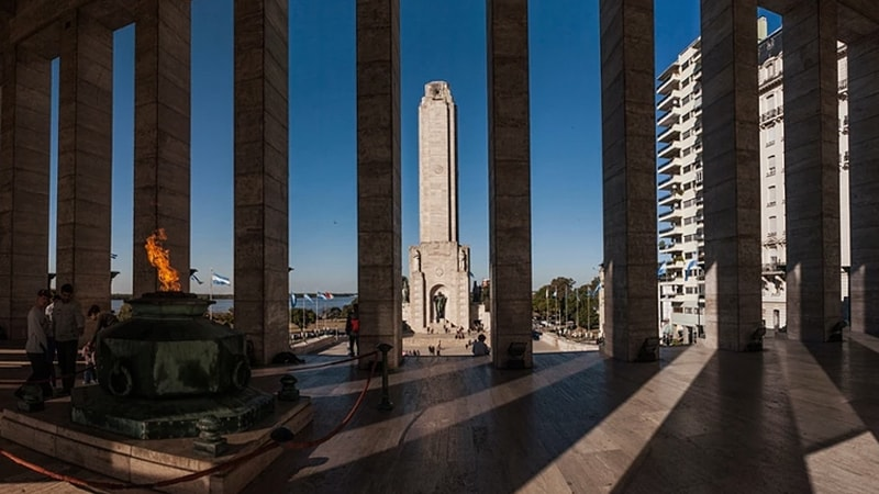 Monumento Nacional a la Bandera, Rosario.