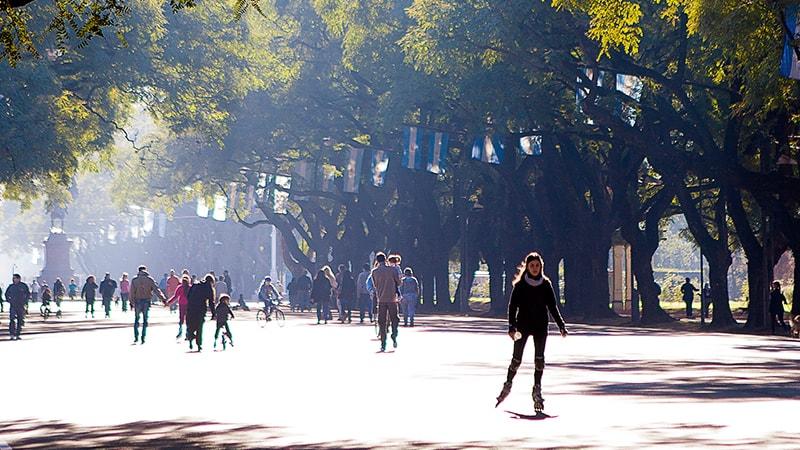 Parque de la Independencia, Rosario.